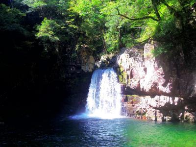 三段峡②~二段滝