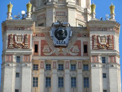 ロシア・ポーランド-歴史の跡を巡る旅(②モスクワ/軍事博物館と雀が丘、その他)