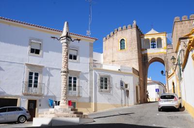 夏旅は初ポルトガル08★エルヴァス★スペインとの国境近くにある要塞都市エルヴァスに到着