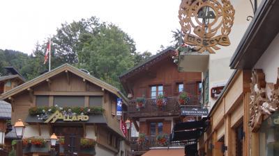 美しきレマン湖とフレンチアルプスの旅(36) ムジェーブ シャモニー~ムジェーブへ移動し観光。