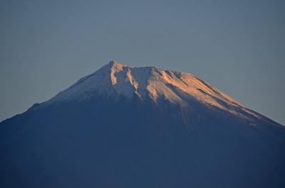 昨日初冠雪の富士山・1日遅れの散歩で見て来ました 2015.10.12