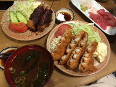 名古屋でおいしいもん食べました。