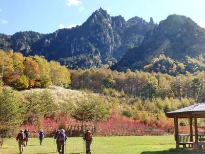 日本百名山・瑞牆山の紅葉