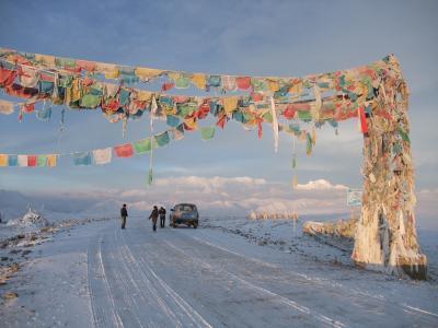 チベット縦断(5) チョモランマBC、ティンリー、カトマンドゥ
