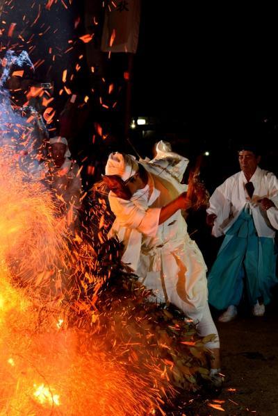 岩倉社のケベス祭