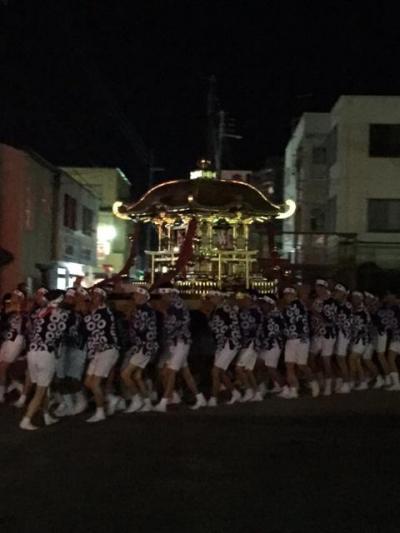 長浜八幡宮秋例祭神輿還御と薪能