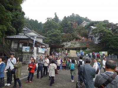 2015年10月 エクシブ京都八瀬離宮の朝食と琵琶湖に浮かぶ竹生島へ初上陸