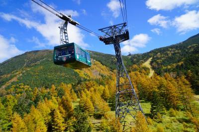 2015秋の八ヶ岳バイク旅vol.3(北八ヶ岳ロープウェイ&高山植物の坪庭)