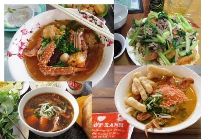 ホーチミン市のカニ入りタピオカ麺=バンカンゲーを食べに,路線バスで!!さらにローカル市場など気ままに。。
