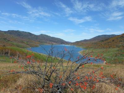 群馬~長野~新潟の3県を流れる中津川の水源、野反湖♪(^0^)