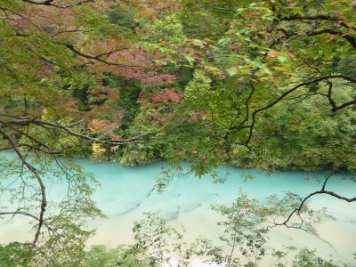 秋の優雅な北陸と信州の旅♪ Vol39(第4日目午前) ☆宇奈月温泉:「黒部峡谷トロッコ列車」 絶景を見ながら欅平へ♪