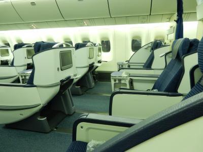 NH 成田→瀋陽 B767-300ER ビジネスクラス 搭乗記