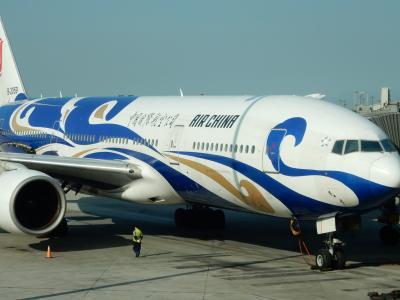 CA 中国国際航空 北京→成田 B777-200 エコノミークラス 搭乗記