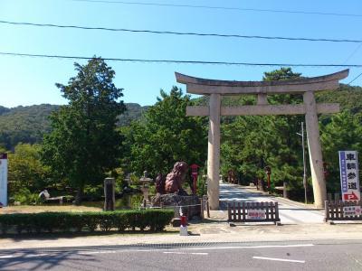 桃太郎伝説の吉備津彦神社