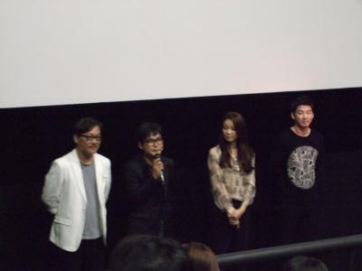 釜山国際映画祭 トトロとユン・ゲサン~^^