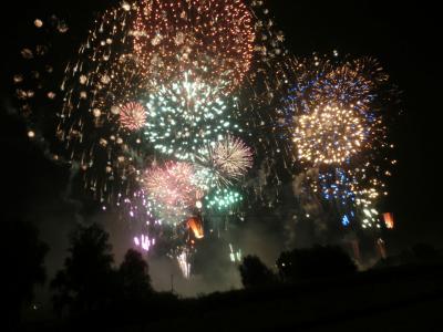 第56回いたばし花火大会へ行きました(2015年8月)