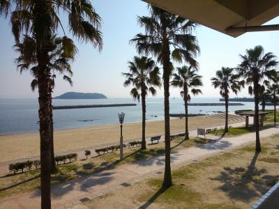 三河湾の宮崎海岸から竹島海岸を散策