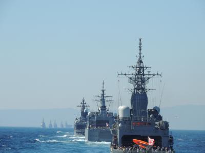 海上自衛隊観艦式2015『海を守り 明日へ繋ぐ』 体験航海レポート③