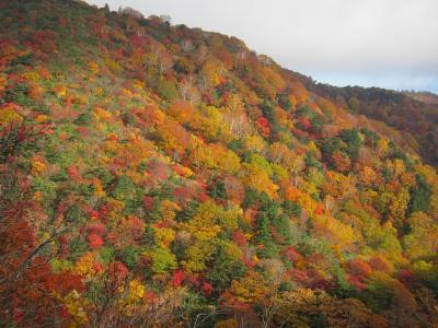 紅葉の安達太良山