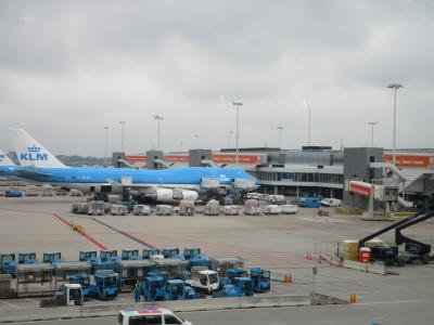 秋のヨーロッパ ① 移動編 スキポール空港