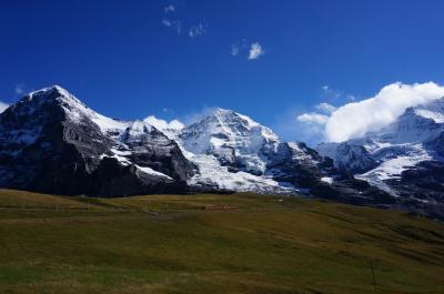 2015初秋 スイス4都市周遊の旅 vol.4 ミューレン・ヴェンゲンアルプハイキング