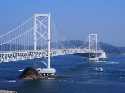 徳島県鳴門へ1、大麻比古(おおあさひこ)神社、霊山寺そして渦潮