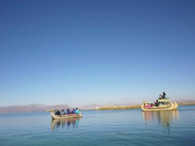 チチカカ湖(ペルー)2015・8月