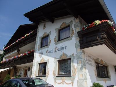 オーストリアのチロル&エーアヴァルト、ドイツのバイエルンの旅 【8】 ゼーフェルトでの宿泊はここ!Haus Bacher