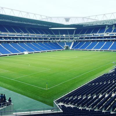ガンバ大阪新スタジアム竣工式。【Jリーグ観戦旅】