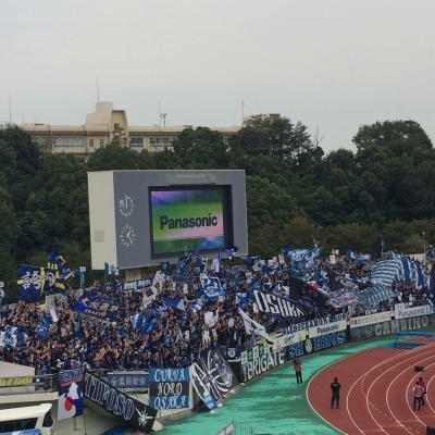 大阪城と最後の万博観戦。NC_QF VS新潟【Jリーグ観戦旅】