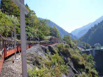 黒部峡谷・トロッコ列車