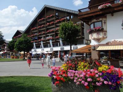 オーストリアのチロル&エーアヴァルト、ドイツのバイエルンの旅 【9】 ゼーフェルトで散策(^^♪
