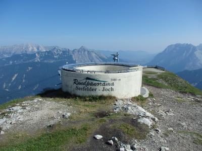 オーストリアのチロル&エーアヴァルト、ドイツのバイエルンの旅 【10】 ゼーフェルダーヨッホ&ゼーフェルダーシュピッツェの十字架を目指して