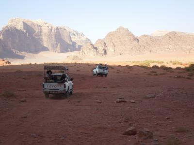 ヨルダン④ ワディ・ラムの最高に赤い砂!