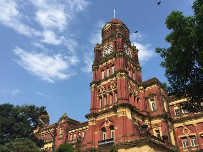 2015年10月 ヤンゴン ダウンタウンお散歩
