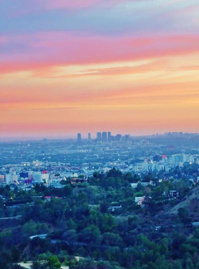 旅の最終日、LAの空は茜色、そしてAAで帰国 《 アメリカ大荒野 親子旅⑭ 》