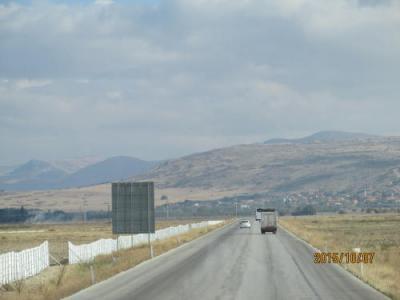 コンヤへの道・410km