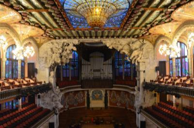 美しすぎる世界遺産に思わずため息! カタルーニャ音楽堂