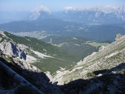 オーストリアのチロル&エーアヴァルト、ドイツのバイエルンの旅 【11】 ゼーフェルダーシュピッツェからヘルメレコプフへ