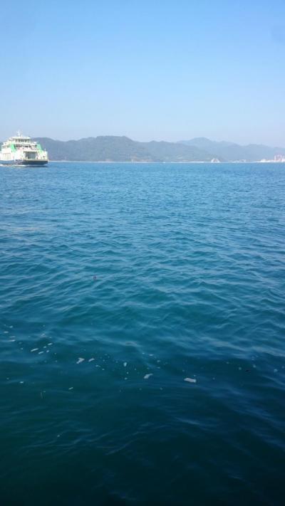 三泊四日瀬戸内海島周り(ご飯なし涙)・小豆島&猫・うさぎ島