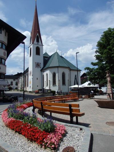 オーストリアのチロル&エーアヴァルト、ドイツのバイエルンの旅 【13】 何度目?ゼーフェルトの町中散策
