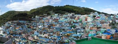 【2015週末韓国】(2)釜山・甘川洞文化村