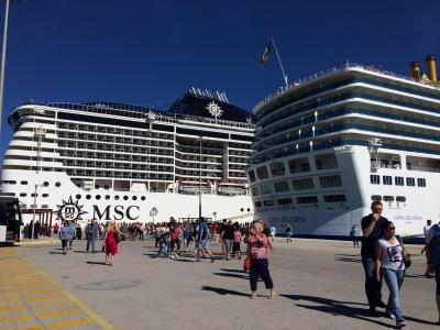 MCSディビーナ号で地中海クルーズ