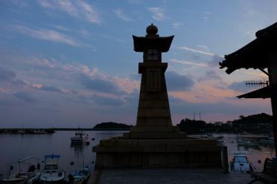 ツアーで行く 紅葉と古い街並み−1 鞆の浦夕景−下