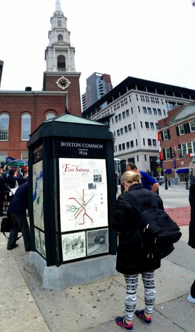 ボストンのフリーダムトレイル~アメリカの独立戦争の歴史スポットを歩く~2015年10月