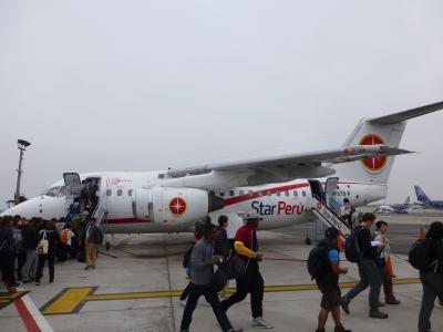 2015 ペルー・ボリビアの旅 1 長時間の移動でリマへ