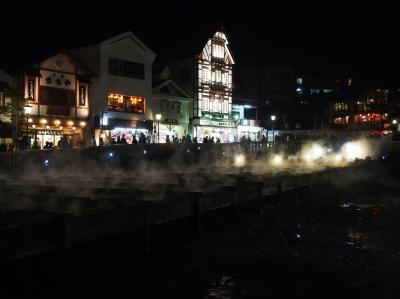 軽井沢・草津温泉の旅(4) 草津温泉の夜
