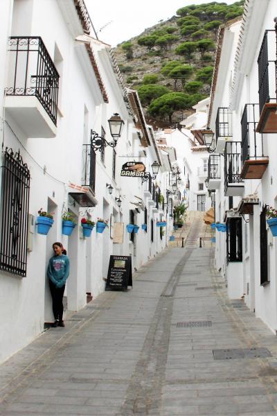■ スペインの旅 (6)白い村「 ミハス 」 白、白、白…、どこを見ても白