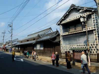ツアーで行く 紅葉と古い街並み-2 井原鉄道 宿場 歴史と文化の矢掛町