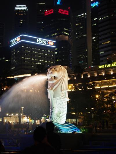 シンガポール一人旅2/5 動物園とマーライオン
